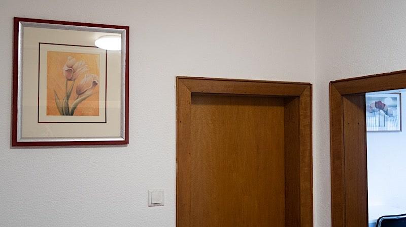 monteurzimmer bild im flur